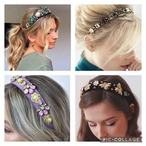 ❤️ JEWELRY HAIRBANDS...ALMOST SOLD OUT‼️